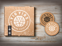 Yia Yias Pizza Box