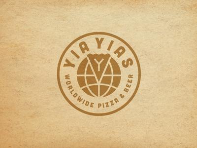 Yia Yias Pizza Logo