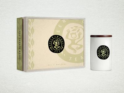 Green Monkey Tea Packaging
