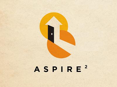 Aspire 2 logo branding design logo design logo