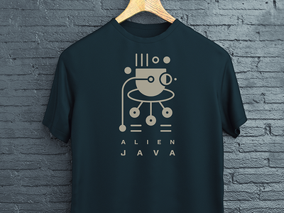 Alien Java T-shirt