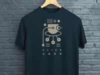 Alien Java T-shirt