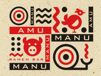 Amu Manu Graphic Set