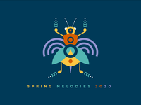 Spring Melodies 2020 Purple Logo