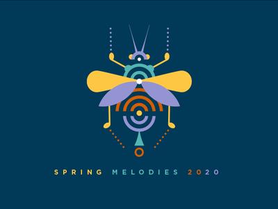 Spring Melodies 2020 Yellow Logo