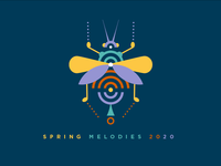 Spring Melodies 2020 Yellow Logo