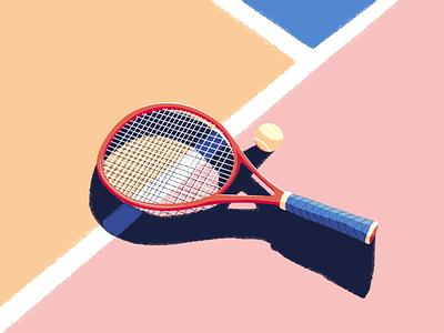 Pause minimalism minimalist illustration vector sport design no people tenis ball tennis racket tennis still life sport illustrator sport illustration