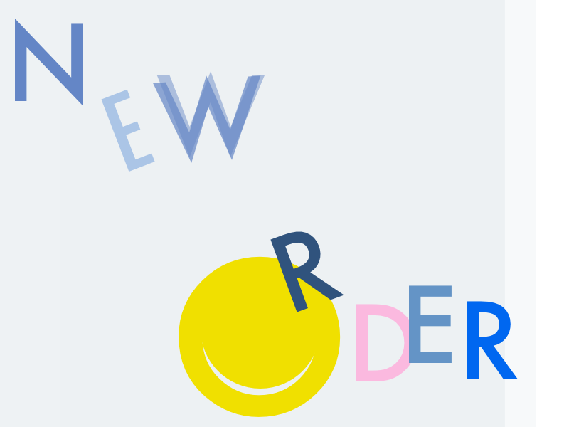 New Order for fun new order poster type