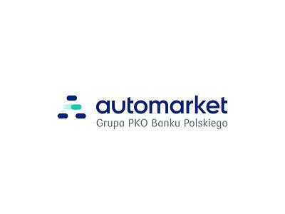 Automarket - Automotive market experience - Logo design product design icon brand identity case study animation branding logo