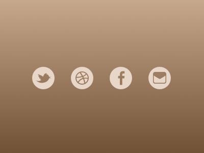 Freebie: Social Icons Flat subtle flat social icons madeinsketch freebie sketch