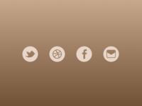 Freebie: Social Icons Flat