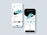 Nike App Redesign V1