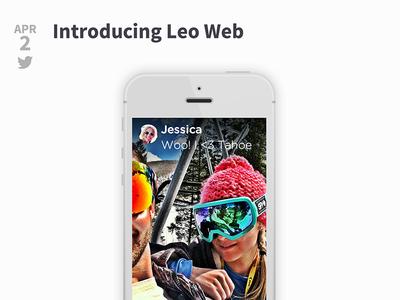 Leo Web leo messaging messenger sms blog address book
