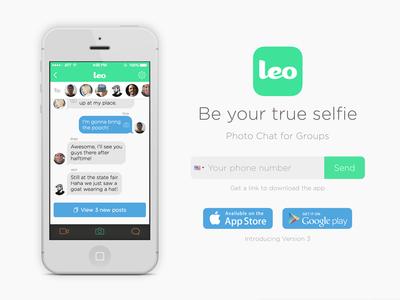 Leo Site Redesign leo light groupchat messenger js css