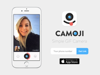 Camoji Landing Page
