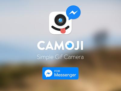 Camoji for Messenger camoji facebook messenger gif