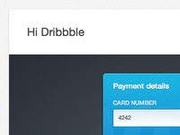 Ribbon Checkout ui ux checkout form credit card payments