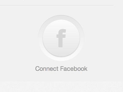Facebook Big Circle Button