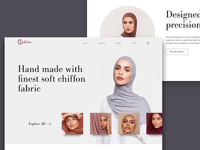 Fashion Website Exploration shopify ecommerce fashion design landing page webdeisgn ui website ux gradient