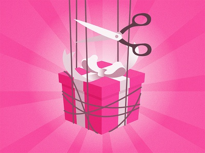 No Strings Attached! player dribbble gift invitation invite