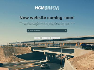 NCM Civil Engineering Temporary Page