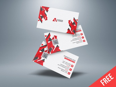 Free Creative Business card download (Ai)