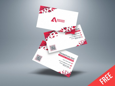 Free Creative Business card template (Ai)