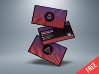Free Business Card Template Download (Ai) illustrator template ai template free template free business card modern business card creative design professional business card creative business card business card design business card template