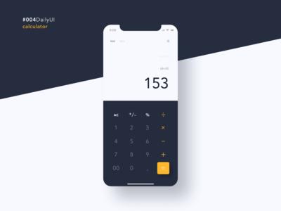 #004DailyUI Calculator