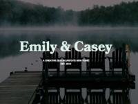 Personal Website Typography