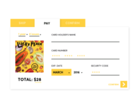Lucky Peach Payment Page #dailyui