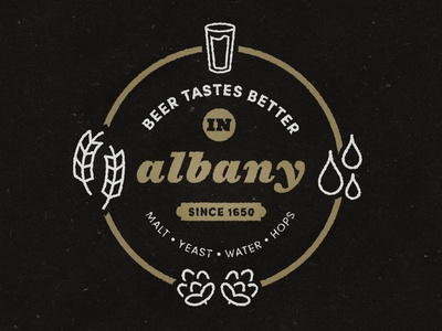Albany Beer Craftwhere Poster