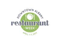 Retro Restaurant Week Logo