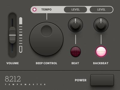 Tempomaster Audio Plugin UI