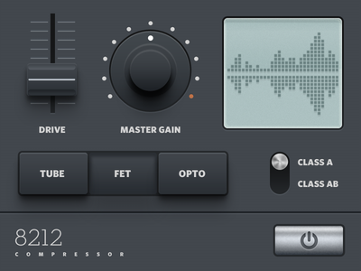 Compressor Audio Plugin UI