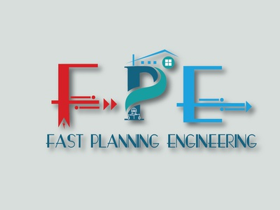 FPE- Logo design_Parvez Raton type ux website web app ui icon planners real estate branding real estate flat illustrator design vector engineers logo branding typography illustration awesome design