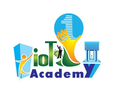 IOT ONE ACADEMI_logo design_Parvez Raton ui logo 3d branding american coloful flat app awesome design one university academy web ux vector icon typography design logo illustration illustrator