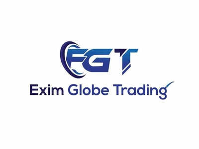 Exim Globe Trading logo design_parvezraton concept coloful creative awesome design illustration typography modern clean flat grabient web ui color bars vector logo icon design branding illustrator