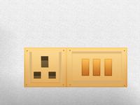 Electric Switch Design by photoshop_parvezraton