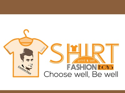 T Shirt Fashion Boys Logo Design_Parvez Raton vector app web ui tshirt art t logo tshirt design fashion branding icon typography flat logo illustration awesome design