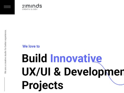 21 Minds creative agency development web design ux ui design branding