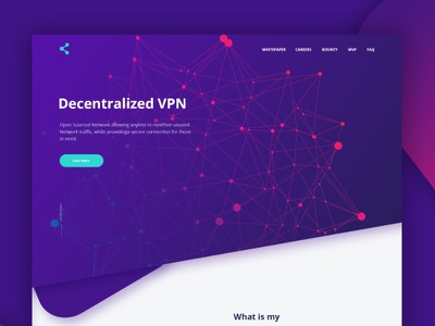 Landing Page ethereumpurple web token page landing ico design currency crypto blockchain bitcoin