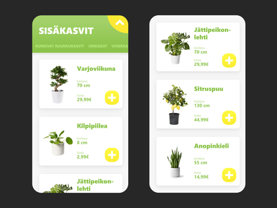 Online plant store