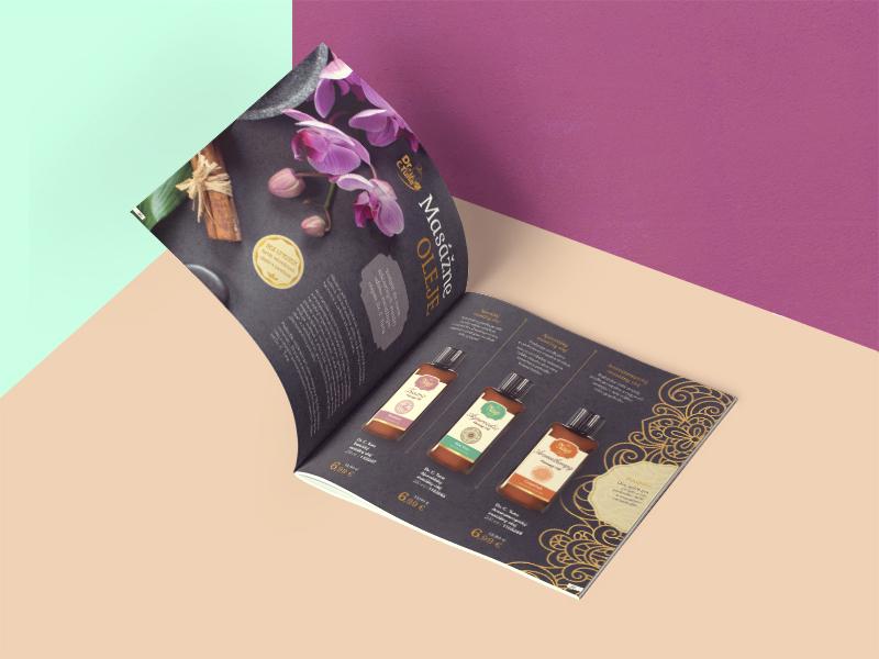 Massage Oils Editorial massage editorial design oriental indesign editorial cosmetics