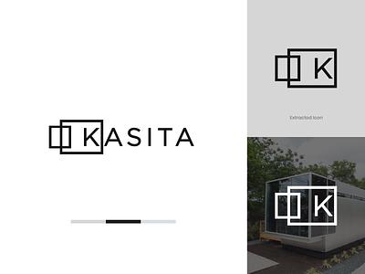 Kasita   Modern Housing Brand Identity real estate hospitality house logo minimal logo design logo brand identity