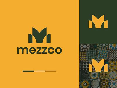 Mezzco   Brand Identity Concept logo concept ceramic minimal geometric logo design brand identity logo