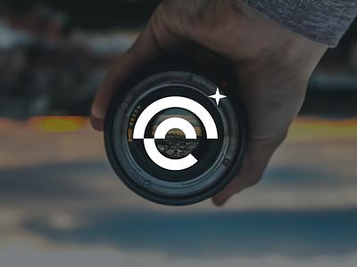 Camera Lens Logo concept brand design identity branding abstract logo brand identity camera photography logo logo concept logo for sale photographer logo design logo