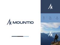 Mountio | Adventure Brand's Logo