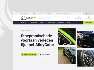 AlloyGator Redesign fresh ux interface branding