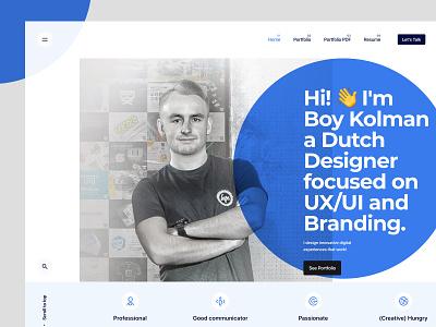 Boy Kolman Portfolio portfolio design fresh identity ux branding